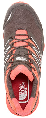 The North Face W Ultra Mt Gtx, Chaussures de Running Entrainement Femme Rouge