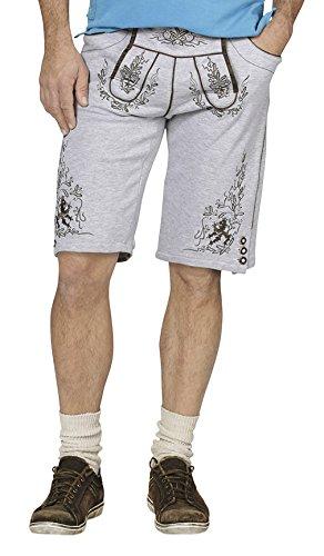 Stockerpoint Herren Hose Short Nash, Grau (Melange), 40 (Herstellergröße: L)