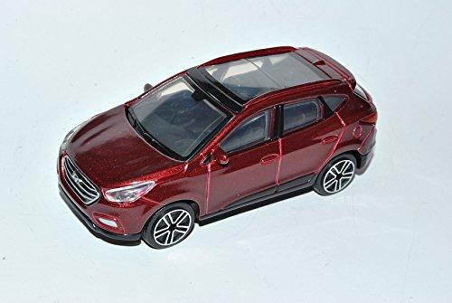 Preisvergleich Produktbild Hyundai IX35 Tucson Rot SUV Ab 2009 1/43 Bburago Modell Auto mit individiuellem Wunschkennzeichen