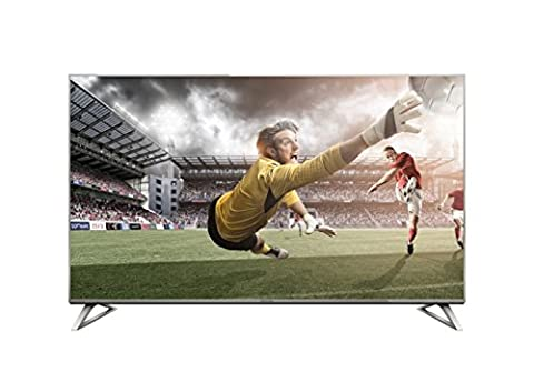 Panasonic TX-40DXW734 Viera 100 cm (40 Zoll) Fernseher (4K Ultra HD, 1400 Hz BMR, HDR High Dynamic Range, Quattro Tuner mit Twin-Konzept, Smart