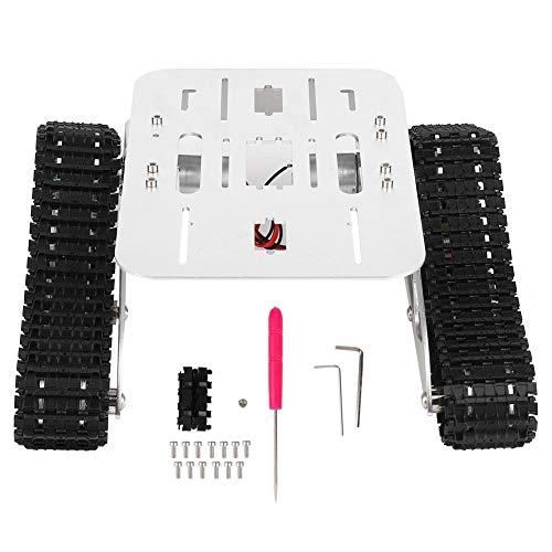 VGEBY1 Crawler Car Chassis, A-07 RC Roboter Panzer Kettenwagen Plattform Smart DIY Kit Zubehör(Assembled)