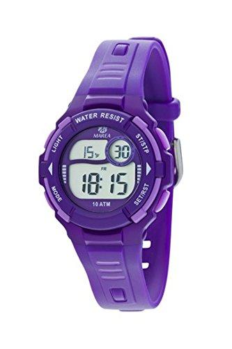 Marea Unisex Kinder Chronograph Digital Uhr mit Silikon Armband B25133/3