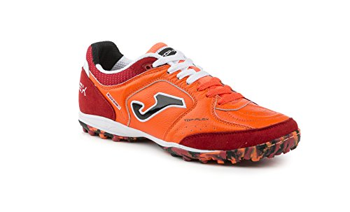 joma-calcetto-top-flex-608-orange-fluor-red-turf-36