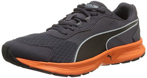 Puma Descendant V3, Herren Laufschuhe Schwarz (periscope/black/orange)