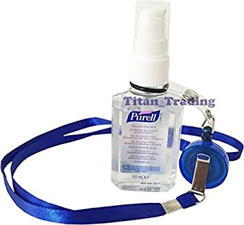 Yoyo Neck Lanyard Retractable Reel Belt Clip Free Purell 60ml