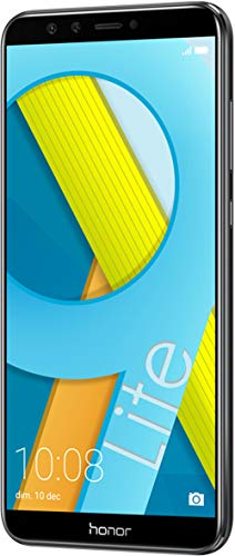 Honor 9 Lite Smartphone 4+64 GB (14,35 cm (5,65 Zoll) FHD+ Display, 64 GB interner Speicher und 4 GB RAM, Dual-Sim, Android 8.0) Midnight Black