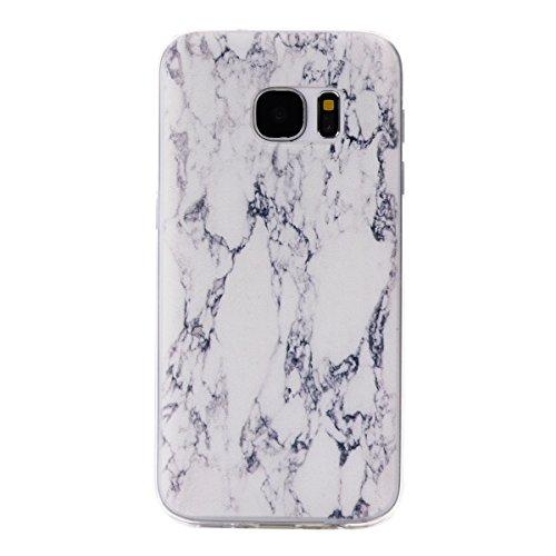 Preisvergleich Produktbild Roreikes Schutzhülle für Samsung Galaxy S7, Crystal Case Hülle aus TPU Silikon mit Indische Sonne Design Schutzhülle Cover klar Transparent hülle Skin Schutz Schale Protective Cover für Samsung Galaxy S7 - Blau