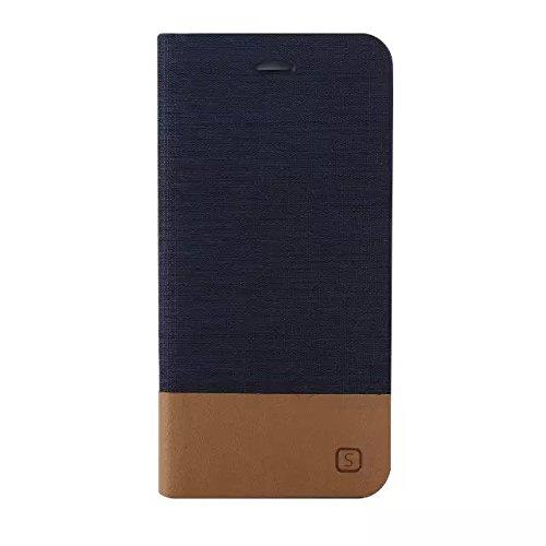 iPhone Case Cover Mixte Motif Couleur Case, Canvas PU étui en cuir Support Case avec fente pour carte de couverture de silicone TPU souple pour iPhone 6 6S ( Color : 5 , Size : IPhone 6S 6 ) 4