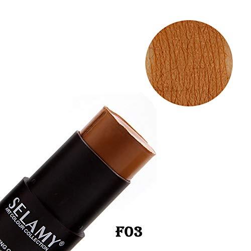 Beito 1 STÜCK Full Cover Contour Concealer Superb Abdeckung Concealer Stick Make Up Concealer Feuchtigkeitsspendende Contouring Creme für Zauberstab Tadellose abdeckung(SY03) -