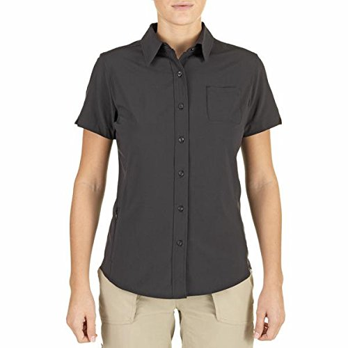 The North Face SABRINA LAKE WOVEN - Bluse - black (Woven Lake Shirt)