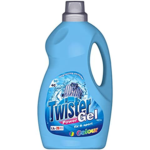 Twister 1500 ml di gel – Fix & Sport, per vestiti colorati, lunga durata Profumo