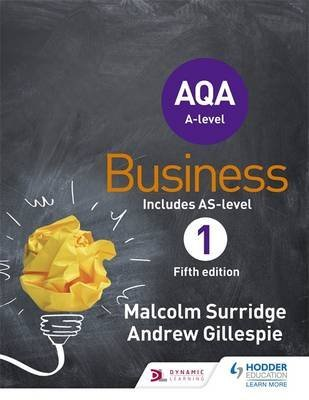 [(AQA Business for A Level 1)] [By (author) Malcolm Surridge ] published on (April, 2015)