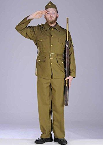 uard Soldat Kostüm (1940er Jahren Fancy Dress Kostüm)