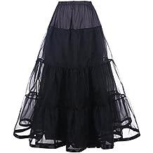 DaisyFormals 50s Caviglia Lunghezza Retro Vintage Crinolina underskirt Rockabilly sottogonna