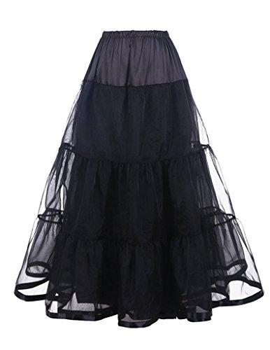 DaisyFormals 1950's Knöchellänge Vintage Rockabilly Petticoat Retro Ballett Tutu Reifrock Unterrock Underskirt- (Ballett Professionelle Tutu Kostüme)