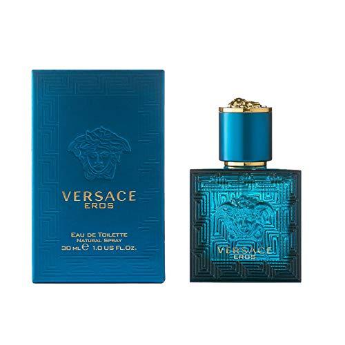 Versace eros, eau de toilette da uomo, 30 ml