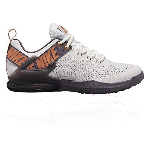 Nike Herren Zoom Domination TR 2 Cross-Trainer, Grau (Platinum Tint/Metallic Copper 007), 43 EU -