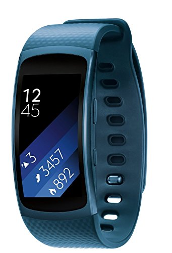 Samsung Gear Fit2 GPS Sports Band (Blue) L Size
