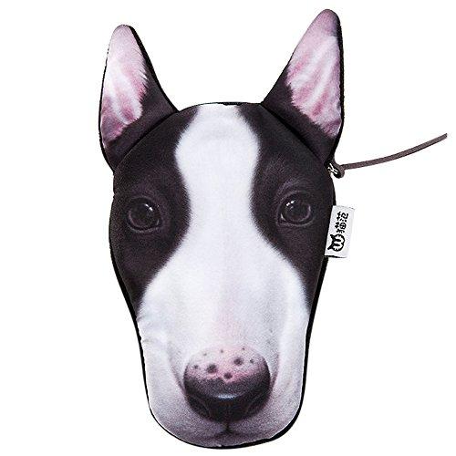 Portemonnaie zur Aufbewahrung von Gegenständen, Geschenkidee Accessoire Motiv Hund Geschenk Souvenir Bull Terrier