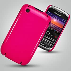 COVERS CASES 8520 CURVE BLACKBERRY HOT PINK BACK COVER CASE AND SCREEN PROTECTOR Accessories for mobile phones by Oliviasphones