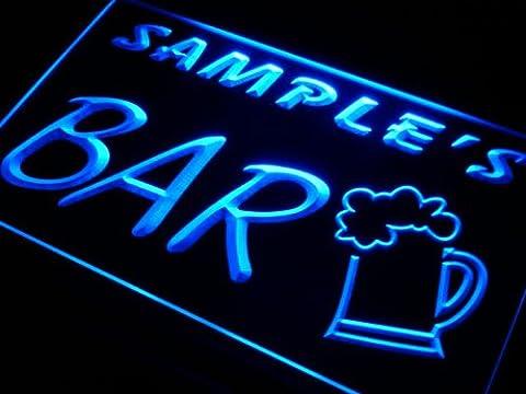 pv-tm Name Personalised Custom Home Brew Bar Beer Mug Glass Neon Light Sign