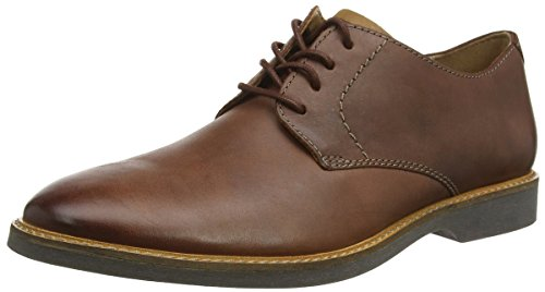 Clarks Atticus Lace, Derbys Homme, Marron (Mahogany Leather), 47 EU