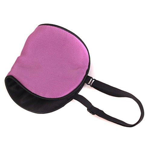 Baby Kinder Schlafmaske Augenmask Schlafbrille Reisen Nachtmaske Eye Mask - Violett, 18 * 9cm