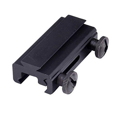 FIRE WOLF Material für Aluminium-Legierung20mm Schwalbenschwanz zu 11mm Weber-Schienen-Verlängerung Picatinny Schienen-Umfang-Einfassung -