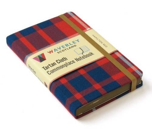 Hamilton Red: Waverley Genuine Tartan Cloth Commonplace Notebook (Waverley Genuine Scottish Tartan (Kostüme Hamilton)