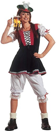 Costume Donna Bavarese - Tirolese Taglia XL_3181B