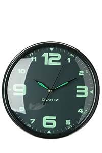 Horloge phosphorescente gris