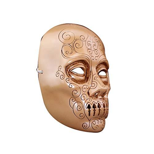 Preisvergleich Produktbild ZIJUAN Erwachsene Harz Maske Tod Esser Maske Karneval Weihnachten Halloween Jahr Ostern Thema Party Headwear Maske Kopfschmuck Cosplay Maske Leistung Dekoration Requisiten