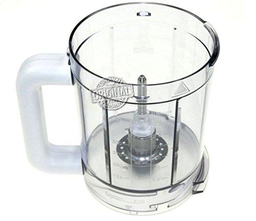 Ciotola, tazza, contenitore, recipiente 750 ml originale braun per robot da cucina combimax k700, k750