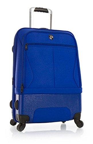 PREMIUM DESIGNER Hybrid Koffer - Heys Hybrid Spinner Air-Lite II Blau Trolley mit 4 Rollen Medium 243654011&Hybrid&HybridHybSpiAir&266 (Hybrid Spinner)