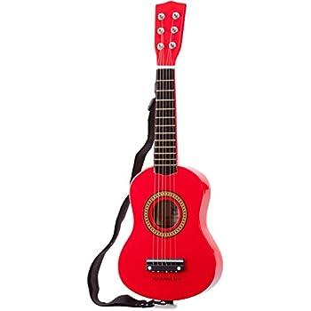 New Classic Toys - 10341 - Instruments de Musique - Guitare En Rouge