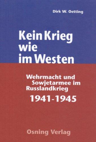 Kein Krieg wie im Westen