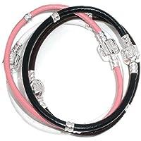Canales de Godagoda 20,32 cm pulseras de seguridad europeo para pulsera cordón de piel