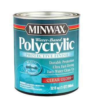 Minwax polycryl Schutzanstrich 65555 1 Quart Finishes -
