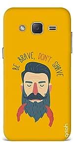Qrioh Printed Designer Back Case Cover for Samsung J2 - Men shenanigans