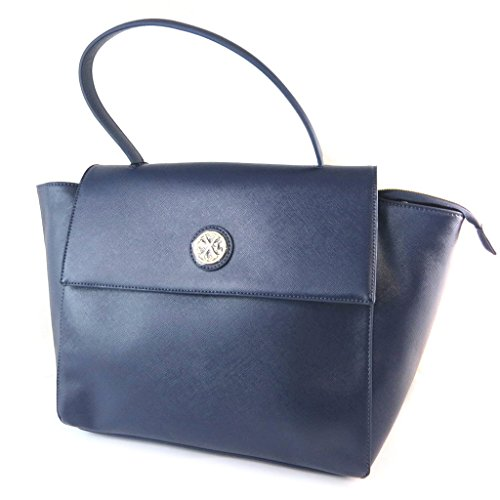Bag designer 'Christian Lacroix'blu notte - 44x28x15 cm.