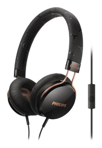 Philips SHL5305BK/00 CitiScape Fixie On-Ear-Kopfhörer mit Bügel schwarz
