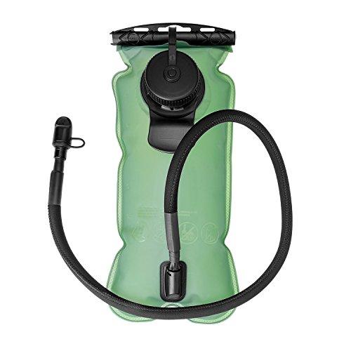 Trinkblase 3L,BPA frei Militär-Qualität,geschmacksneutral weit zu öffnende einfache Benutzung Trinksystem Reservoir für Fahrradtouren Wanderungen Fahrrad Trinkrucksäcke Rucksack