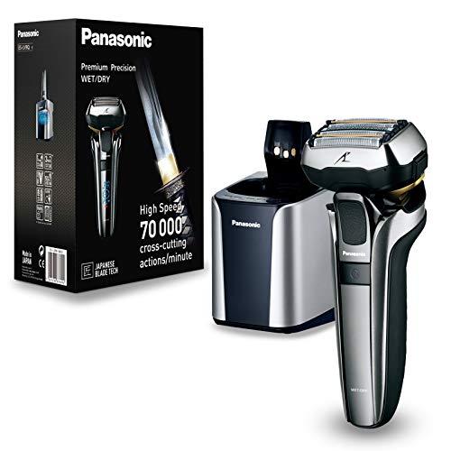 Panasonic ES-LV9Q-S803 rasoio elettrico Nero, Argento