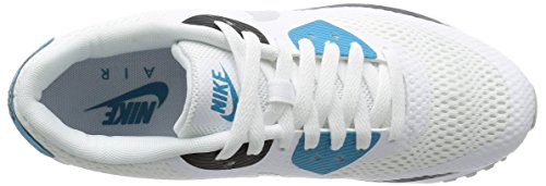 Nike Air Max 90 Ultra Essential, Chaussures de Running Entrainement Homme Multicolore (White/Neutral Grey/Laser Blue/Black)