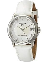 Tissot Luxury Dau Stahl/Lederband Aut, T086.207.16.116.00