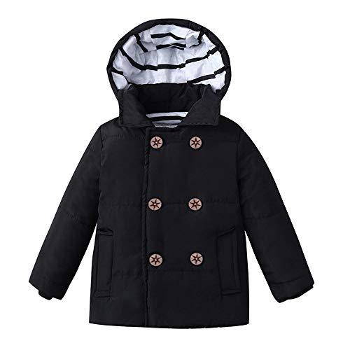 Yanhoo Winter Daunenjacke Mit Kapuze Kinder Jungen Mädchen Langarm Warmer Dicker Mantel Daunen Streifen Baumwolle Liner Parka Jacke Windjacke Outwear