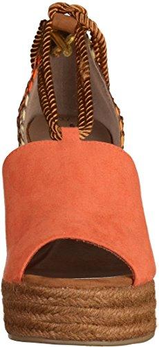 Tamaris 1-28312-28 Damen Sandalen Orange