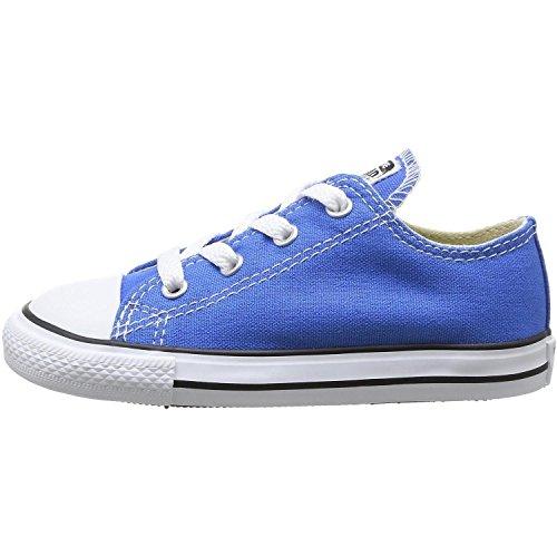 Converse  Chuck Taylor All Star Core Ox,  Unisex Kinder Kurzschaft Stiefel Light Sapphire