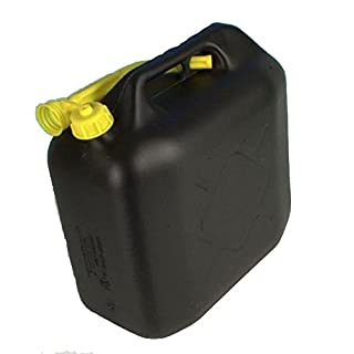 10 L 10L Litre PLASTIC JERRY CAN FUEL OIL WATER PETROL DIESEL WITH A SPOUT