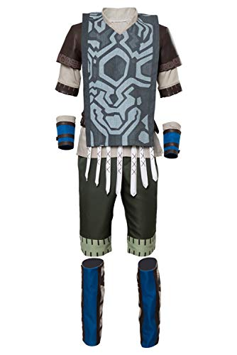 Shadow Kostüm The Colossus Of - MingoTor Superheld Outfit Cosplay Kostüm Herren XS